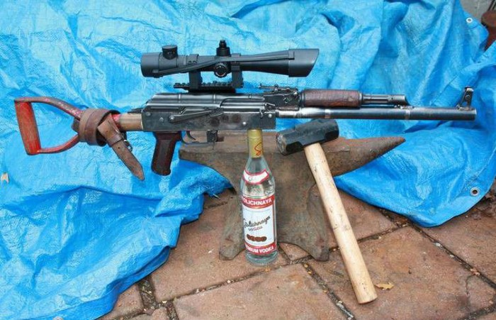 Вицове: АК-47 тунингован!!!