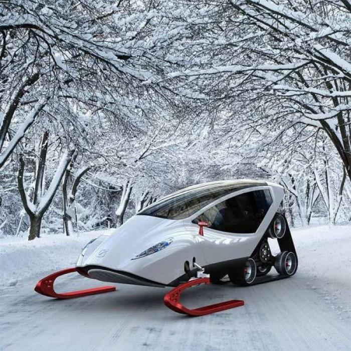 Вицове: Снегоход