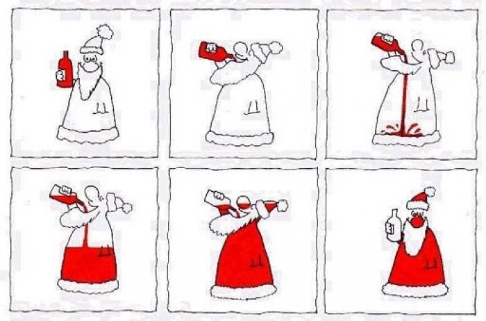 Вицове: Дядо Коледа