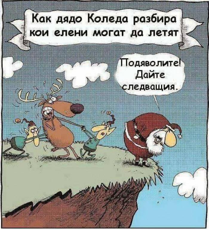 Вицове: Как дядо Коледа разбира кои елени могат да летят