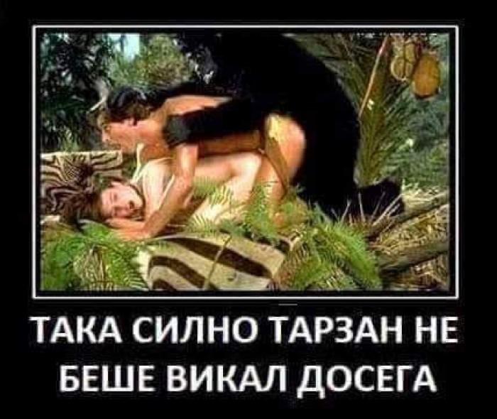 Вицове: Тарзан