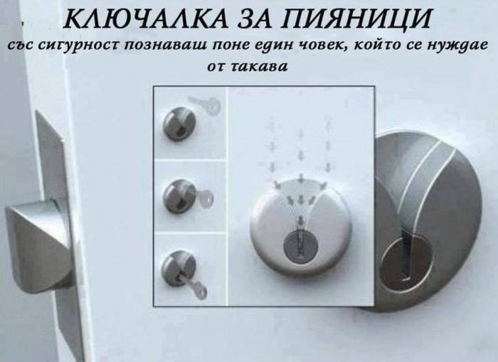 Вицове: Ключалка за пияници
