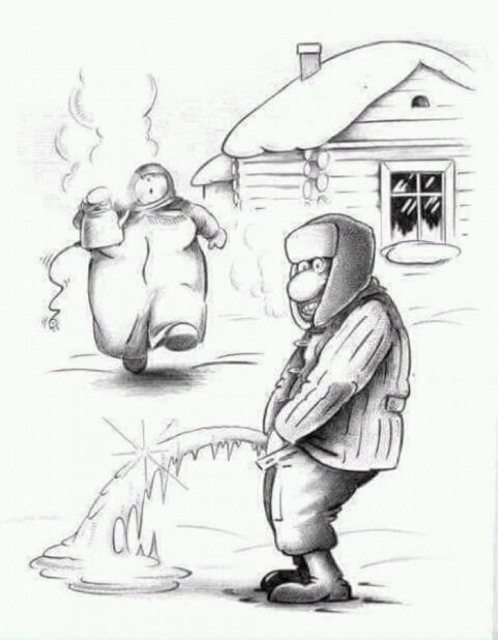 Вицове: Зима е!
