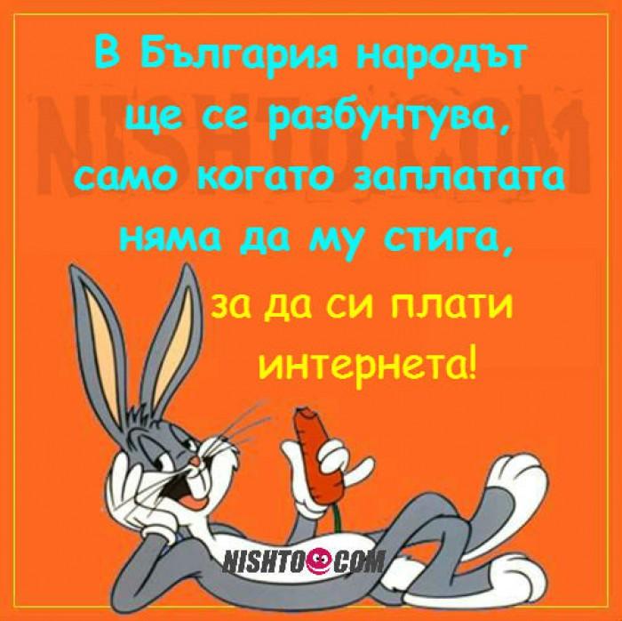 Вицове: В България народът ще се разбунтува, само когато заплатата няма да му стига