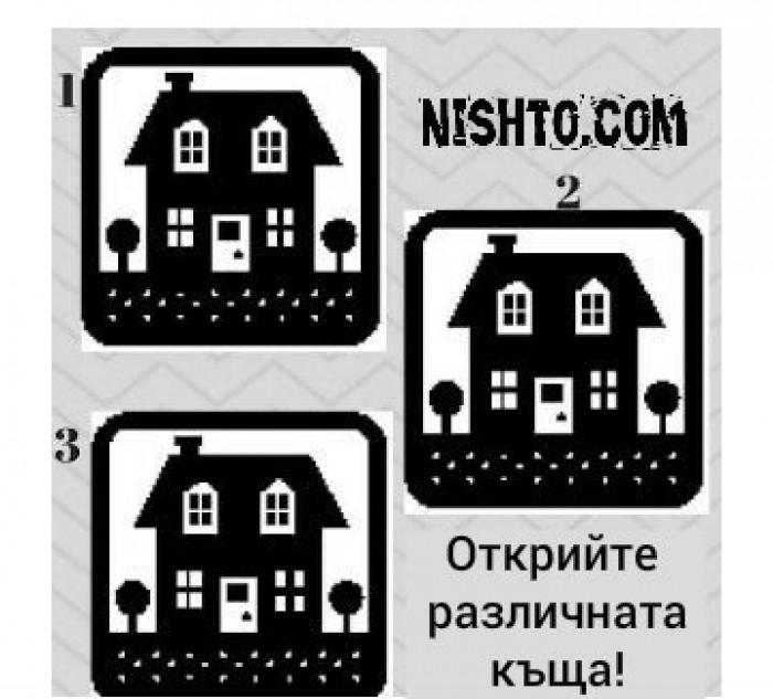 Вицове: Открийте различната къща!