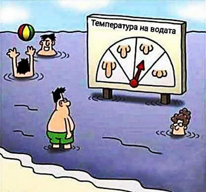Вицове: Температура на водата