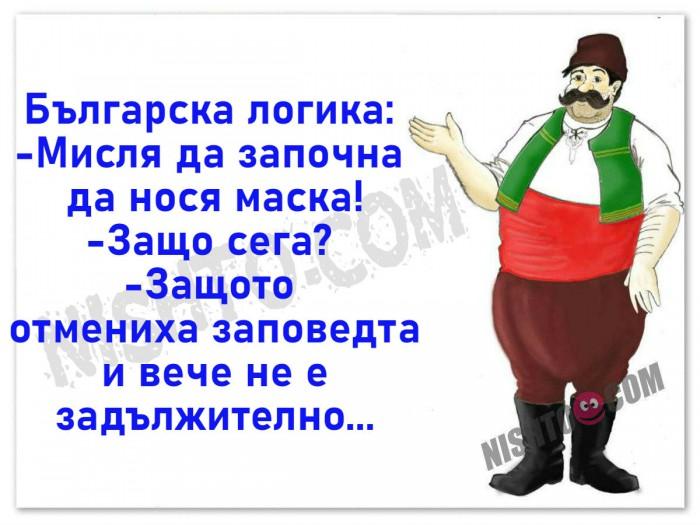 Вицове: Българска логика