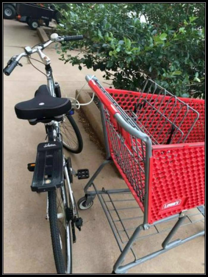 Вицове: Сигурно заключване на колело!!!
