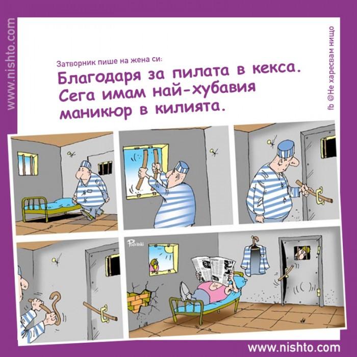 Вицове: Затворнически хумор 3