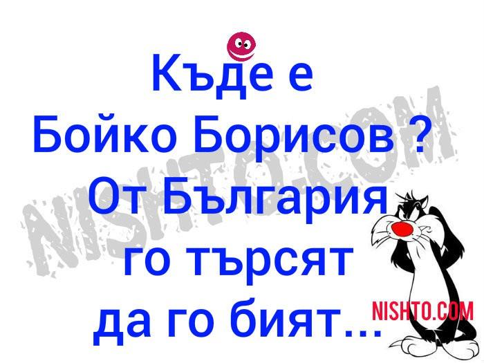 Вицове: Къде е Бойко Борисов