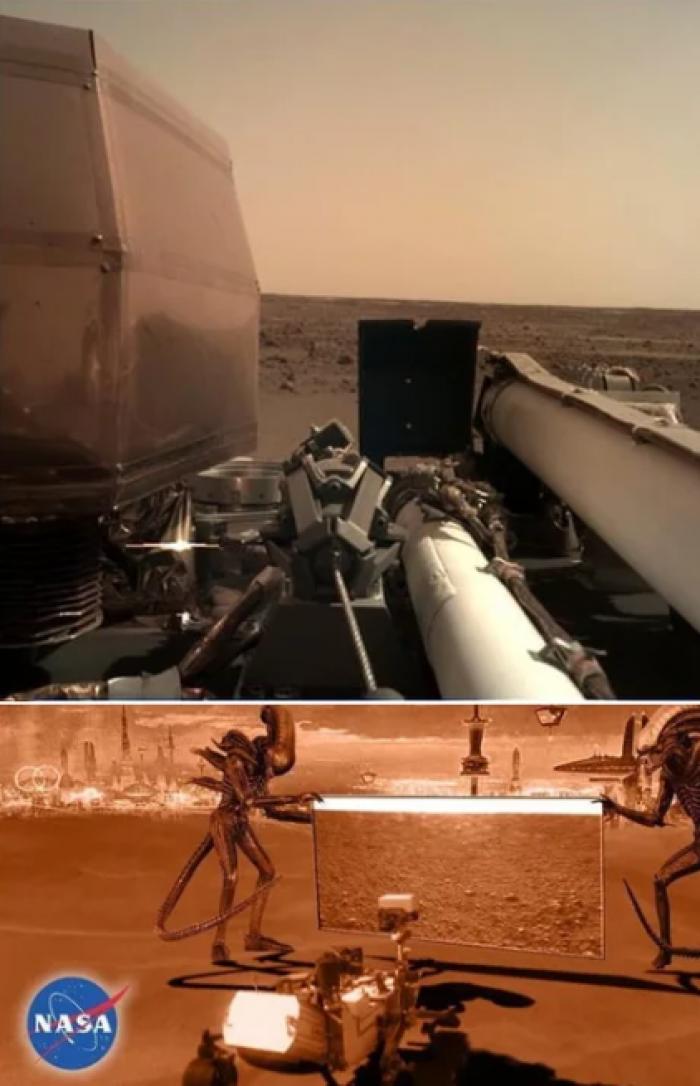 """Вицове: """"ИнСайт"""" кацна на Марс"""