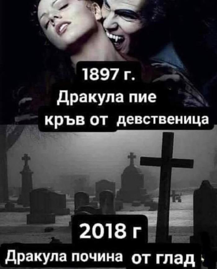 Вицове: Дракула