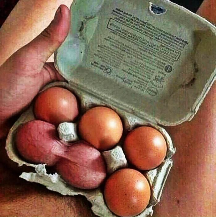 Вицове: Яйца