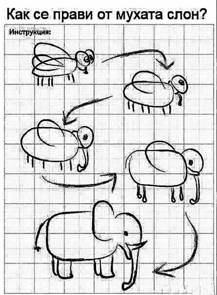 Вицове: Как да направя от мухата - слон